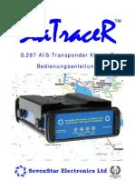 SeaTraceR German User Manual 1.1