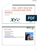 16th WIS - 3D-Printing_ SWOT Analysis on Open Source and Open Models - The Slides