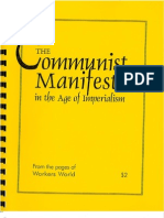 Communist Manifesto in the Age of Imperialism