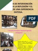 PRÁCTICA DE INTERVENCIÓN GUIADA A LA REFLEXIÓN Y