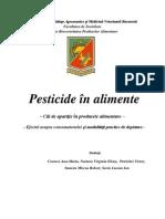 Proiect Pesticide