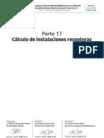 Parte 17 cálculo de instalaciones