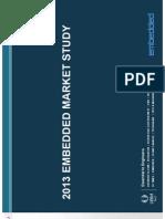 Embedded Market Study 2013