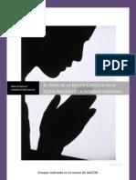 El papel de la Iglesia Católica en la restauración de la dignidad femenina