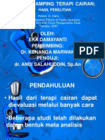 Efek Samping Terapi Cairan (Hasil Penelitian)