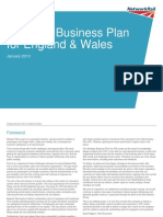Strategic Business Plan for England and Wales for CP5 - 2014-19