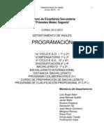 Programacion INGLÉS 2012-2013 (1)