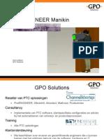 GPO - Manikin - PTC User Event 2009