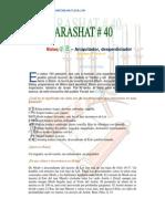 Parashat Balaq # 40 Jov 6013