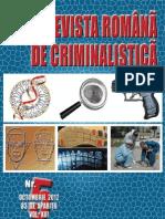 criminalistica revista