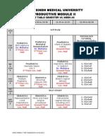 Semester 07, Week-08 Tt