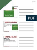 Direito Agrario CIVIL - 29-05 - BRUNNO -AGRARIO_AULA01