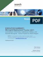 MGDT 4Q11 Executive Summary