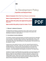 Collections Development Policy.