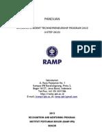 RAMP IPB_panduan I-step 2013