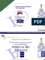 Formato Presentacion Historia Del a