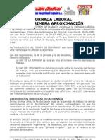 Informe Sobre Jornada de Trabajo en El Sector de Seguridad
