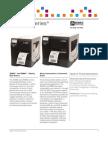 Zebra ZM Series Industrial Printer Datasheet