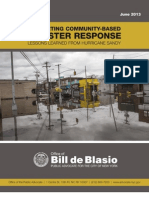 Supporting Community-Based Disaster Response