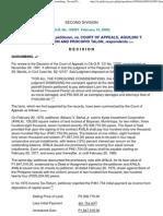 Bañas vs CA-tax amnesty strict