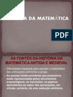 ppt História da Matemática -origens I