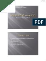Traffic Chapter 3 Urban Road Analysis12