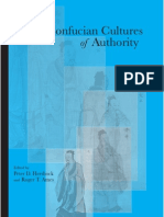 Peter D. Hershock, Roger T. Ames Confucian Cultures of Authority Suny Series in Asian Studies Development 2006