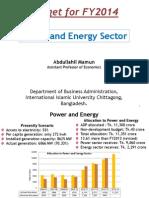 Power and Energy Sector of Bangladesh- Abdullahil Mamun, DBA, IIUC