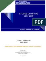 Recueil des études du MHUAE - http://www.metrecarre.ma