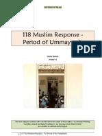 118 Muslim Response - Period of Ummayyads