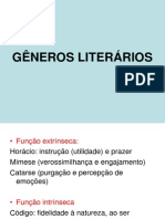 Aula 1 Generos Literarios