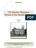119 Muslim Response - Period of the Muslim Empires