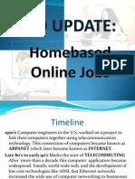 Homebased Online Jobs