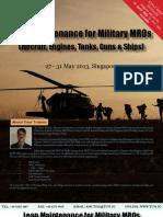 Lean Maintenance for Military MRO Fahim