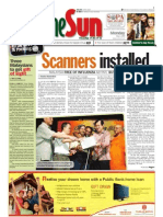 TheSun 2009-05-04 Page01 Scanners Installed