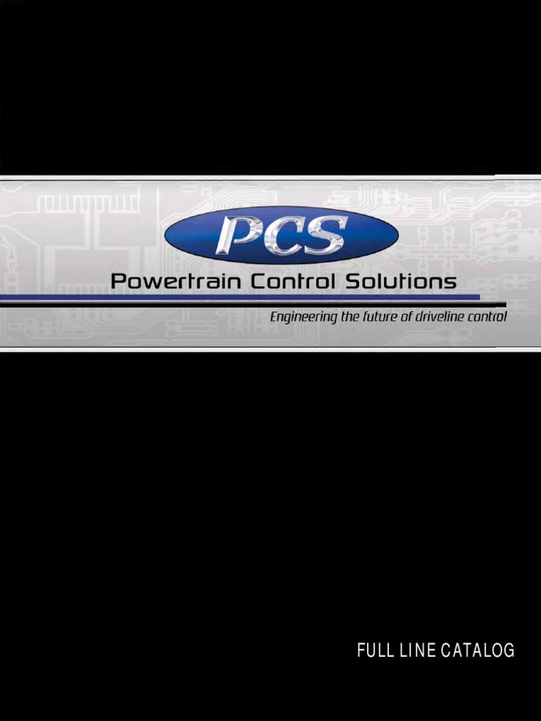 Pcs Catalog Revc 02042013 | Transmission (Mechanics) | Automatic