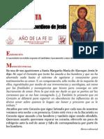 Hora Santa. Corazón misericordioso de Jesús. Año de la Fe. SS. Francisco