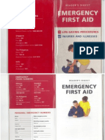 Reader Digest-Emergency First Aid