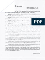 Brookhaven Peachtree Overlay Text Amendment Adopted 6/20/2013