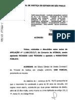 Jurisprudência - Furto - devolução da res furtiva