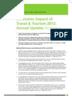 Economic Impact of TT 2013 Annual Update - Summary