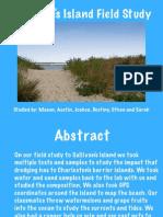 sullivans island field study
