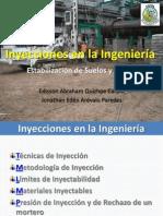 Inyecciones en la Ingeniería