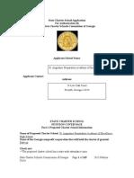 St Augustine Preparatory Charter School Petition