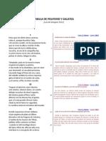 POLIFEMO (Estrofas Parafrasis Comentarios)