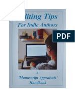 Editing Tips for Indie Authors (Sample)