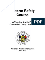 Firearms Safety Course 2013