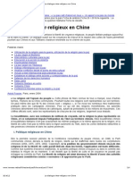 Le Dialogue Inter-religieux en Chine