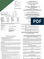 SC Application 2009