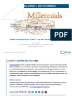 The Millennial Opportunity - Marketing Financial Services to the Digital Generation